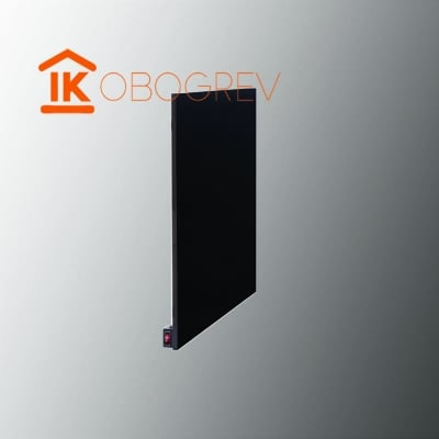 Инфракрасный керамический обогреватель TEPLOCERAMIC ТСM 400 черный