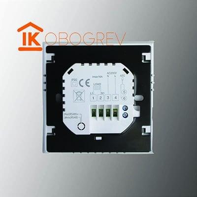 Терморегулятор iTeo4 вид сзади