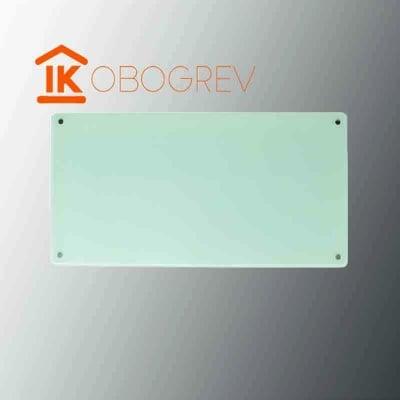 Стеклянный инфракрасный обогреватель SunWay SWG 450 (белый)