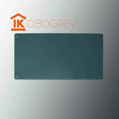 Стеклянный инфракрасный обогреватель SunWay SWG 450 (серый)
