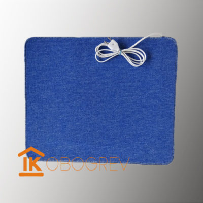 Коврик с подогревом ТепЛесик (ковролин) 70х60 синий